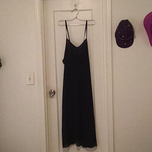 Carole Little Dresses & Skirts - 'Carole Little' Sheer Slip Dress